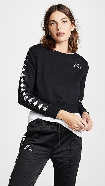 Kappa Banda Crop Sweatshirt