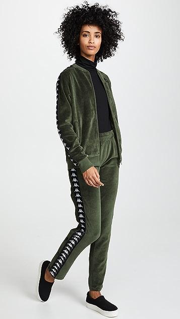 Kappa Mivvie Velour Jacket