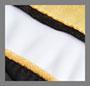 Black/White/Yellow Gold