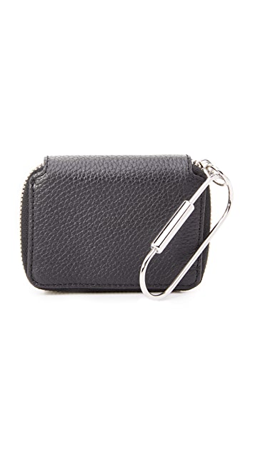 KARA Small Zip Wallet