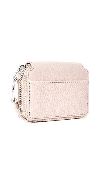 KARA Small Zip Wallet
