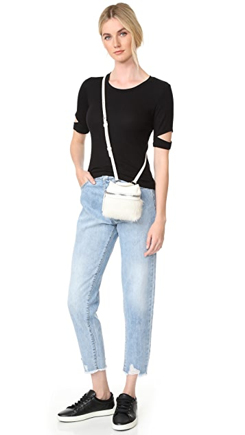 KARA Haircalf Micro Satchel