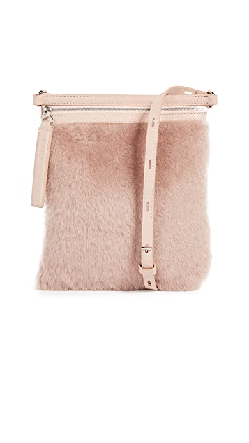 KARA Shearling Waist Bag