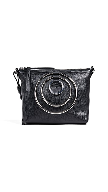 KARA Multi Ring Cross Body Bag