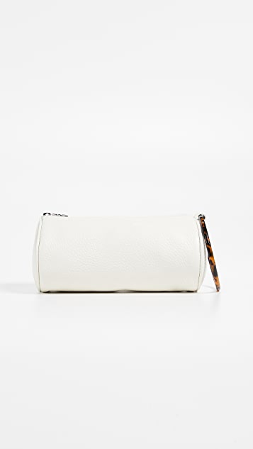 KARA Duffel Wristlet with Tortoise Ring