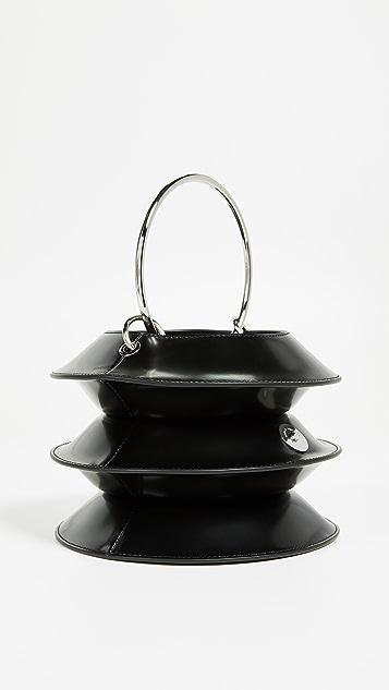 KARA Pinch Lantern Bag