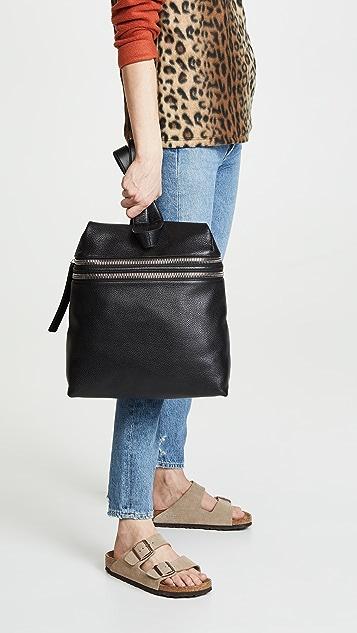KARA Double Zipper Backpack