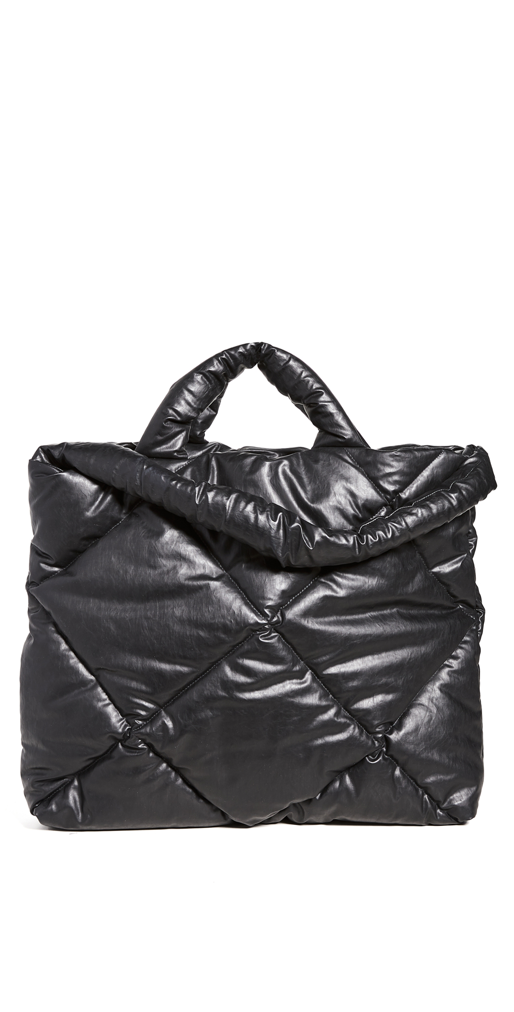 Bag Large Oil Quilted Tote