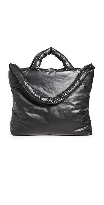 KASSL Baby Oil Bag + Changing Mat - Black