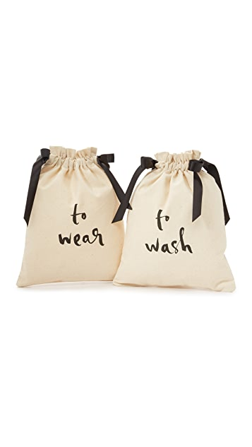 Kate Spade New York To Wash & To Wear Travel Bag Set