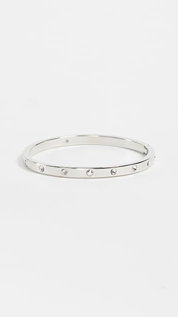 Kate Spade New York Set in Stone Hinged Bangle