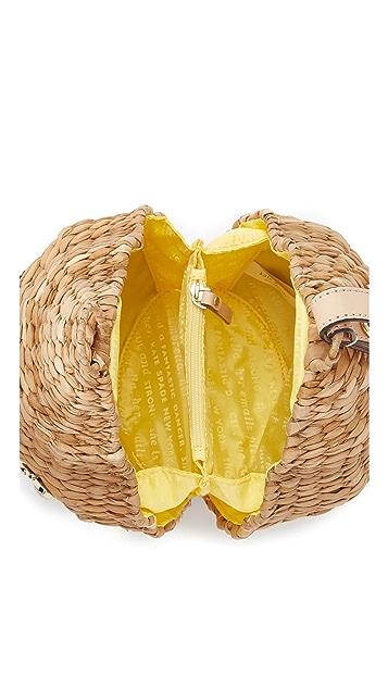 Kate Spade New York Straw Beehive Bag