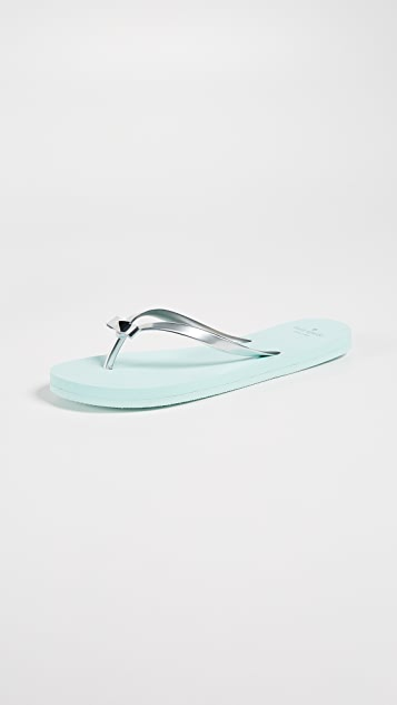 d0fdb0fe821c Kate Spade New York Happily Imprint Flip Flops ...