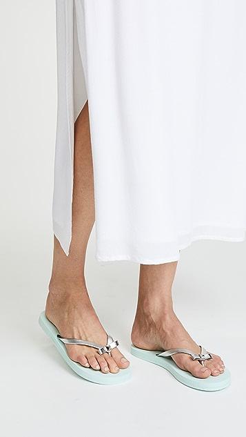 Kate Spade New York Happily Imprint Flip Flops