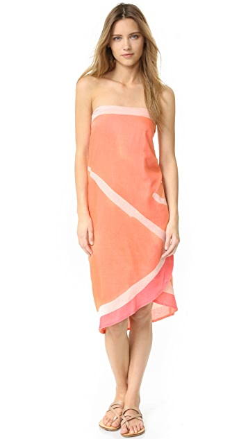 Kate Spade New York Sliced Grapefruit Pareo Scarf