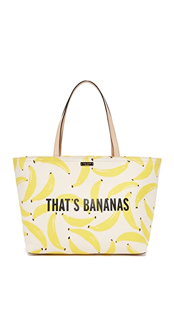 Kate Spade New York That's Bananas Francis Tote