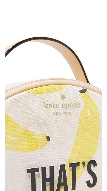 Kate Spade New York Banana Miri Cosmetic Case