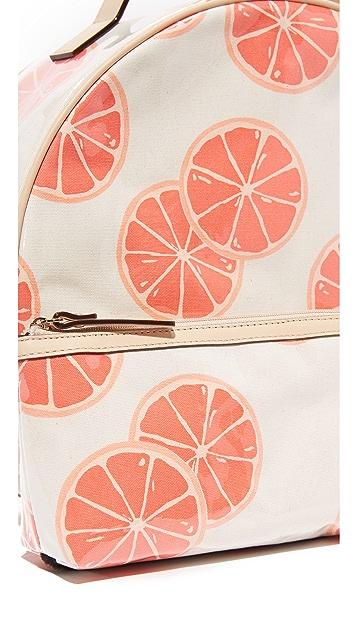 Kate Spade New York Grapefruit Patsie Cosmetic Case