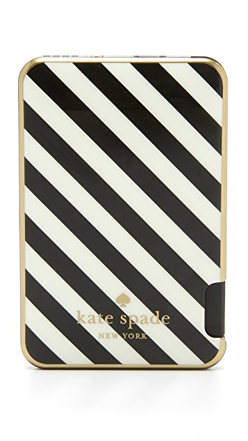 Kate Spade New York Stripe Slim iPhone Battery with Cable