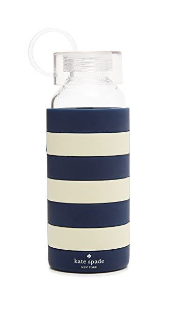 Kate Spade New York Glass Water Bottle