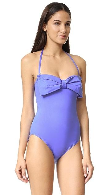 Kate Spade New York Georgica Beach Bandeau Swimsuit