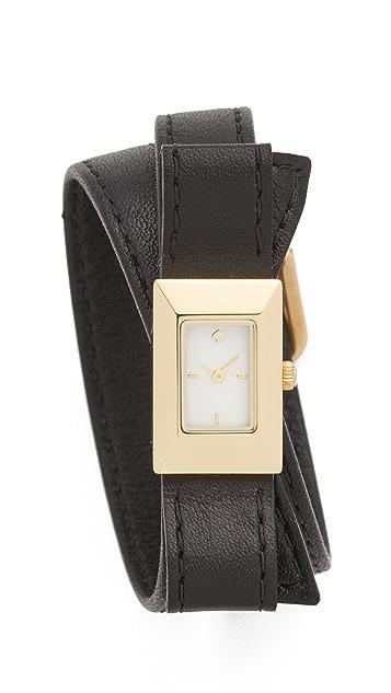 Kate Spade New York Kenmare Double Wrap Watch