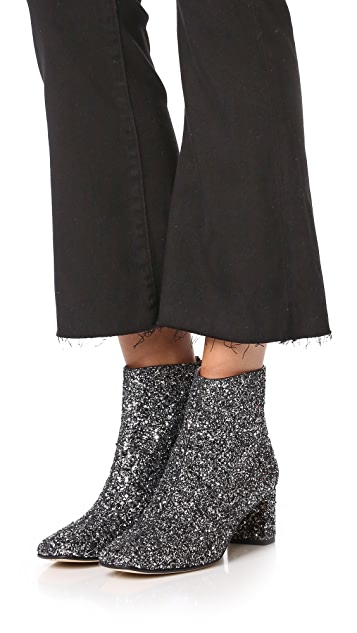 Kate Spade New York Tal Glitter Booties