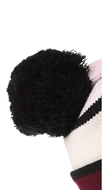 Kate Spade New York Colorblock Beanie