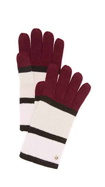 Kate Spade New York Colorblock Gloves