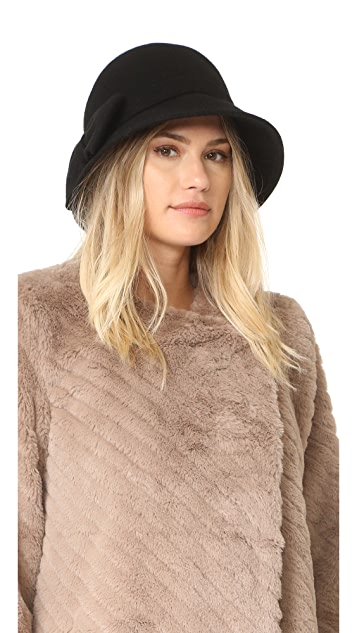 Kate Spade New York Flat Top Cloche Hat