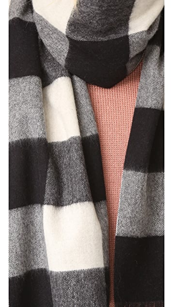 Kate Spade New York Mega Check Scarf