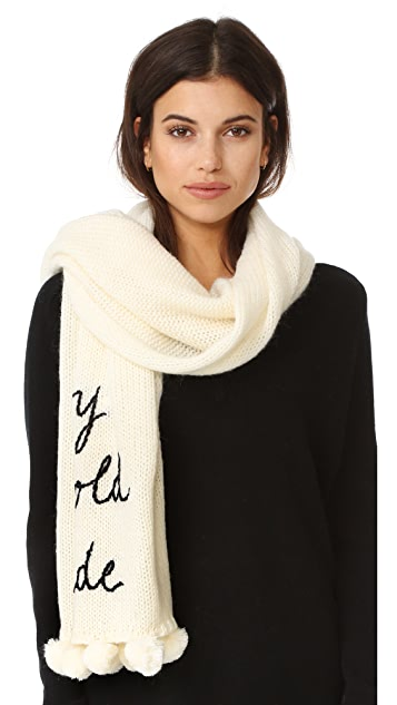 Kate Spade New York Baby It's Cold Outside Muffler