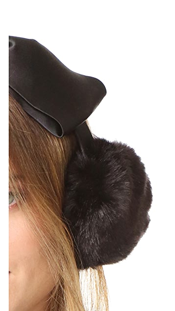 Kate Spade New York Earmuffs with Satin Bow