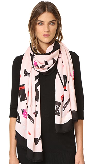 Kate Spade New York Steal The Scene Scarf