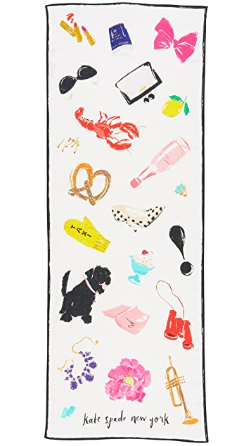 Kate Spade New York Things We Love Oblong Scarf