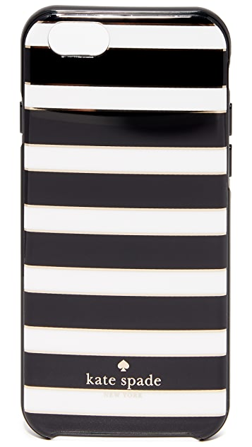 Kate Spade New York Stripe with Foil iPhone 6 / 6s Case
