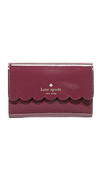 Kate Spade New York Kieran Patent Wallet