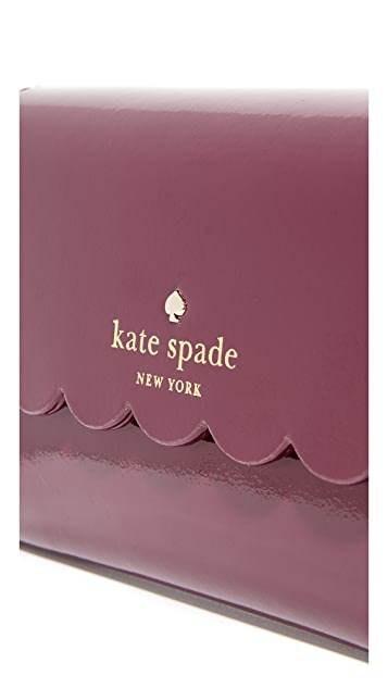 Kate Spade New York Кошелек Kieran из лакированной кожи