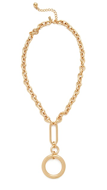 Kate Spade New York Goldie Links Pendant Necklace