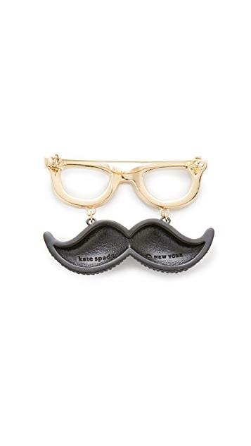 Kate Spade New York Dress The Part Mustache Brooch