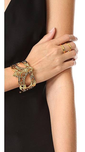 Kate Spade New York Dress The Part Mask Cuff Bracelet