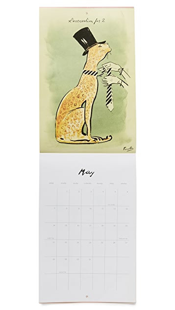 Kate Spade New York Wall Calendar