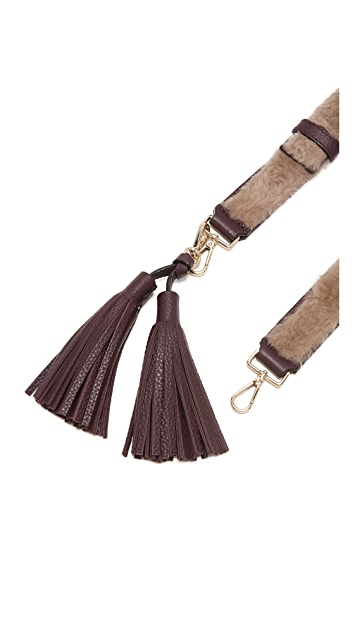 Kate Spade New York Shearing Tassel Guitar Strap
