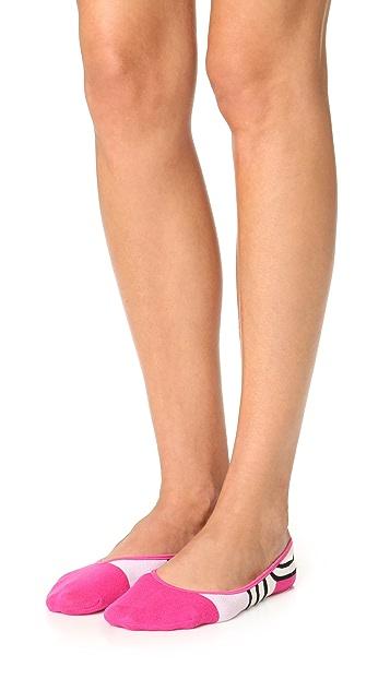Kate Spade New York Scuba Stripes Liner Socks