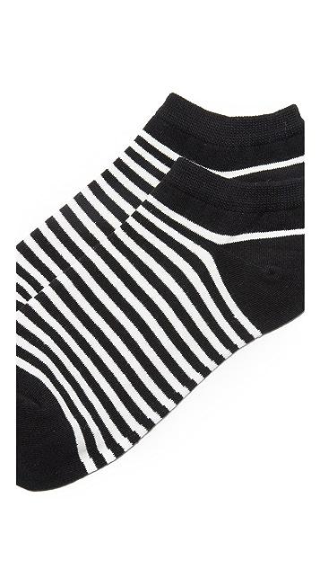 Kate Spade New York Classic Lady Stripe Socks