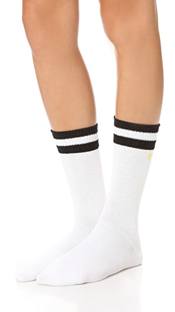 Kate Spade New York Wide Rib Welt Socks