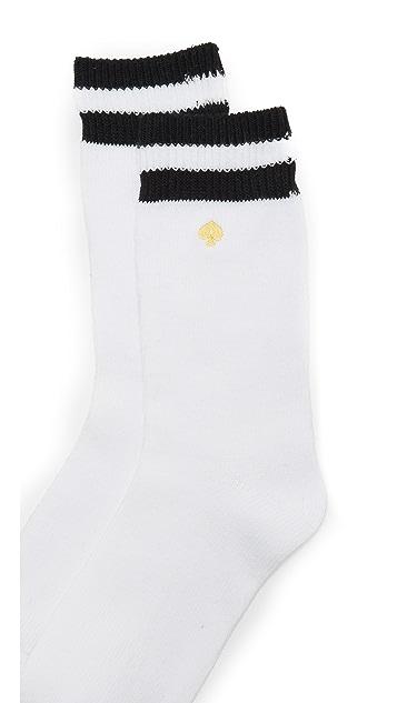 Kate Spade New York Wide Rib Welt Socks