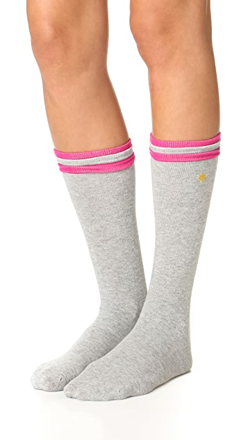 Kate Spade New York Layered Welt Socks