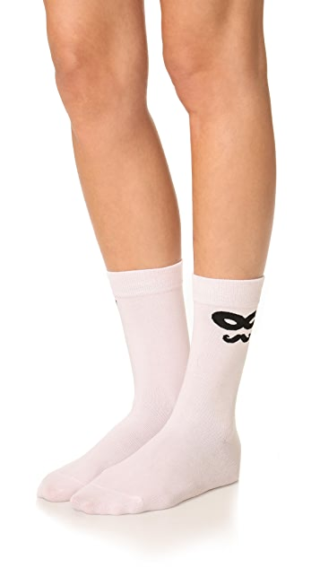 Kate Spade New York Novelty Mask Socks