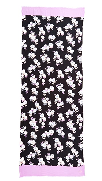 Kate Spade New York Posy Floral Oblong Scarf